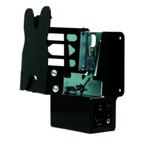 Removable TV Bracket with electrical & TV plug Version 1