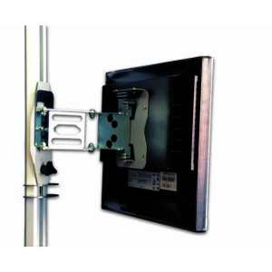 Adjustable Vertical Dropdown TV Support with pull-out