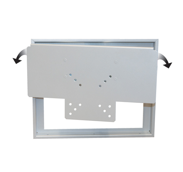 Wall Embedded LCD Bracket