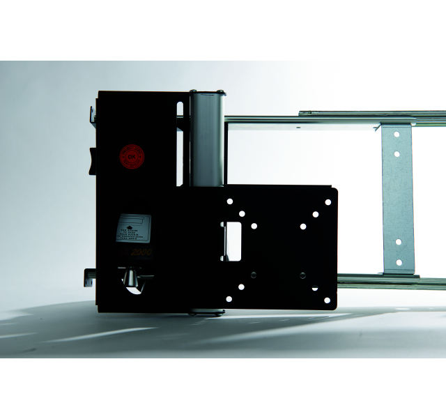 Manual lateral LCD Bracket