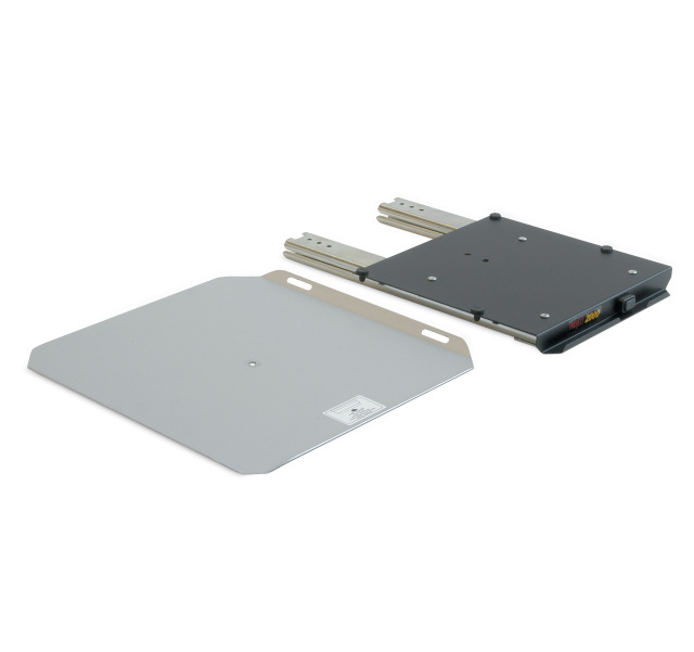 LCD bracket to be coupled with 12731 series, sliding LCD Brackets