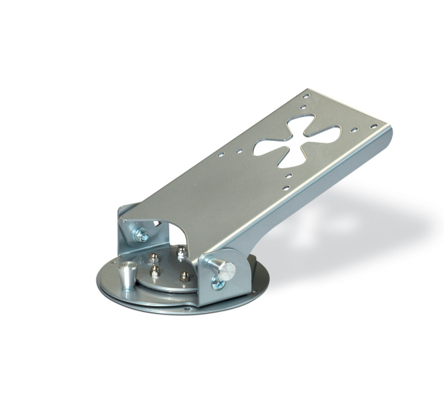 LCD Bracket for ceiling with pivoting plate