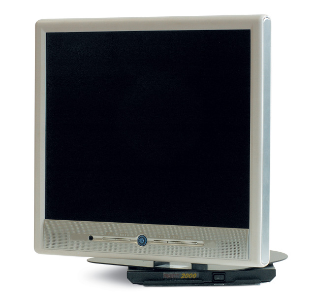 Sliding LCD Bracket with arm to lower the TV